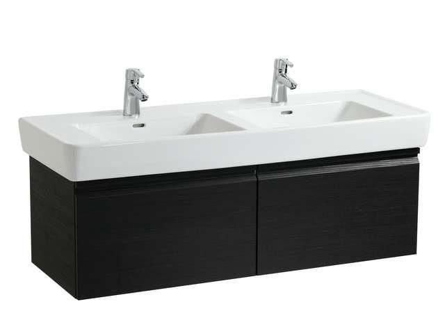 Laufen Pro A Waschtischunterschrank B:122cm T:45cm H:39cm 2 Schubladen 2 Innenschubladen wenge H4830820954231