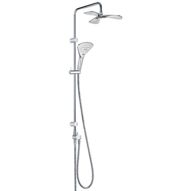 KLUDI FIZZ Dual Shower System mit FIZZ 3 Kammer Kopfbrause chrom 6709305-00