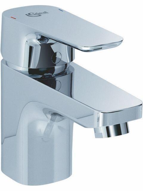 Ideal Standard CERAPLAN III Waschtischarmatur 130 mit Ablaufgarnitur Ausladung 99mm chrom B0700AA