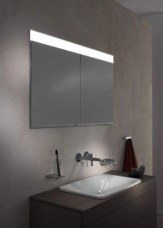Keuco Edition 400 Spiegelschrank Wandeinbau 1 Lichtfarbe 1410x650x154mm 21513171301