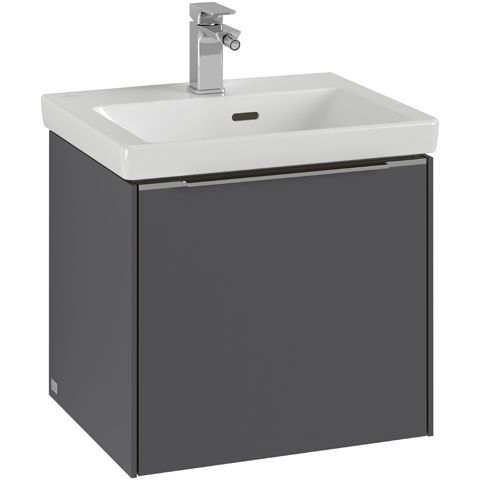 Villeroy & Boch Subway 3.0 Waschtischunterschrank 47,3x43,2x39,15cm 1 Auszüge Waschtisch mittig Pure White C58000VF