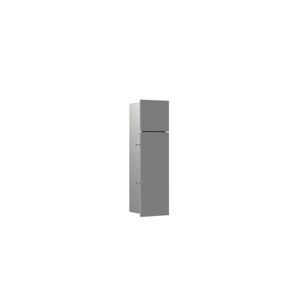 Emco Asis Pure WC-Modul H:60xB:17xT:14,85cm Unterputz Anschlag links diamantgrau 975551502