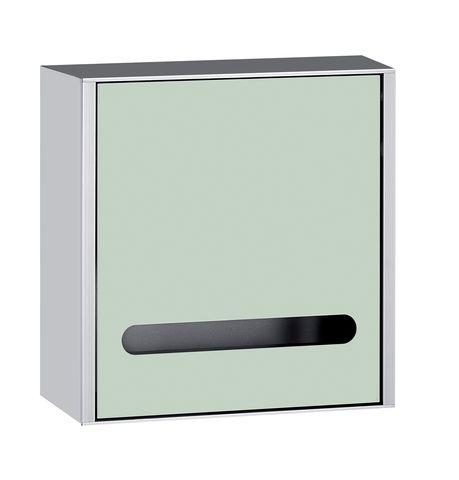 Emco asis 300 Papiertuchspendermodul Aufputz H:30cm Aluminium schwarz 972927521