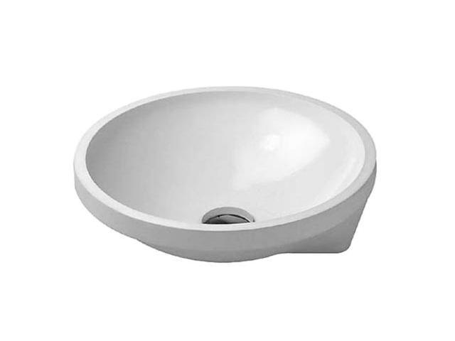 Duravit Architec Einbauwaschtisch rund DM:40cm ohne Hahnloch ohne Überlauf weiß 0463400000
