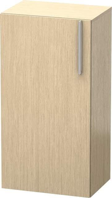 Duravit Vero Halbhochschrank B:50xH:96xT:36cm 1 Tür Türanschlag links eiche gebürstet VE1156L1212
