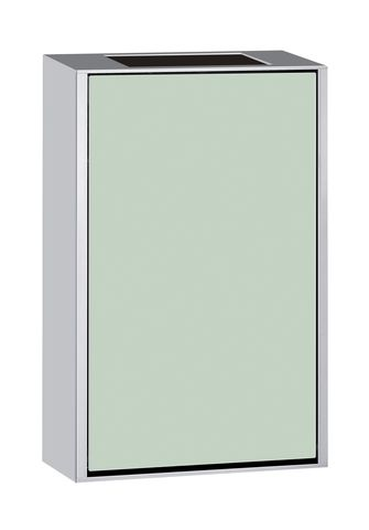 Emco asis 300 Abfallsammlermodul Aufputz H:50cm Aufputz Aluminium schwarz 973327530