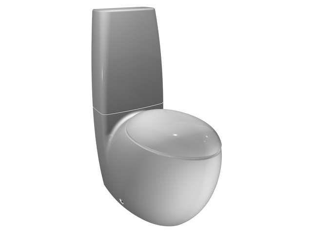 Laufen Alessi one Tiefspül-Stand-WC für Kombination L:72xB:39cm weiß mit CleanCoat LCC H8229764000001