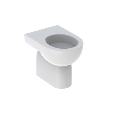 Geberit Keramag Renova Tiefspül-Stand-WC L:47,5cm Weiß mit KeraTect 213011600