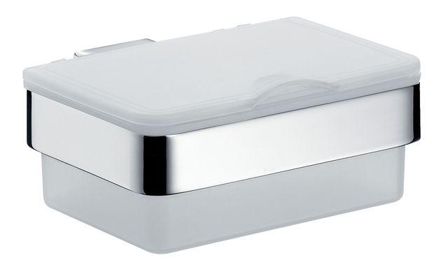 Emco loft Feuchtpapierbox mit Kunststoffbox weiß Emco-steel 053901600