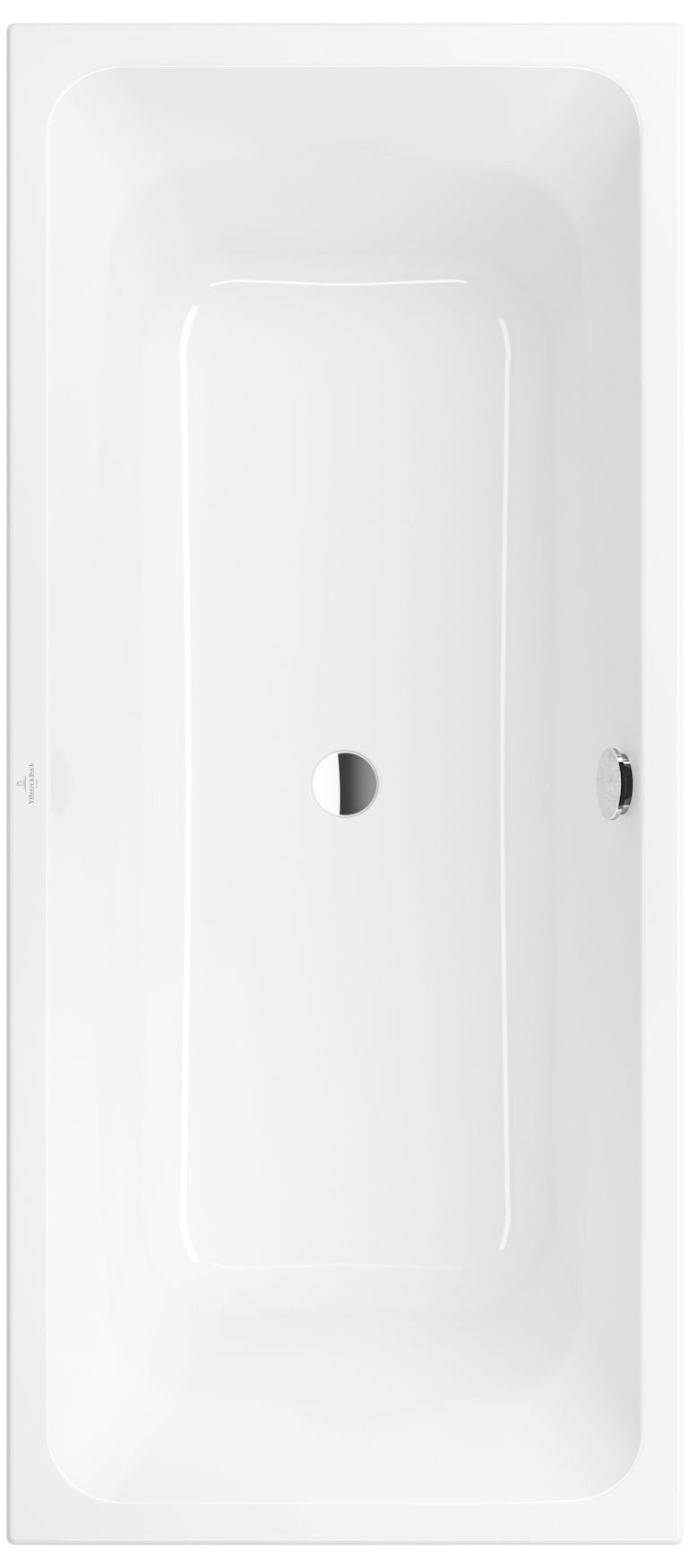 Villeroy & Boch Avento Badewanne L:180 x B:80 cm Rechteck weiß UBA180AVN2V-01