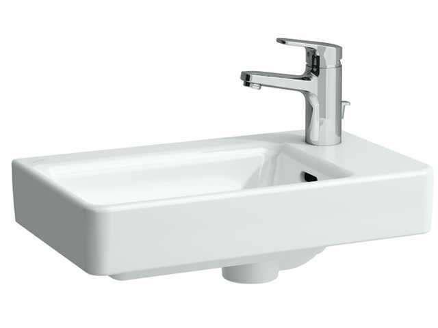 Laufen Pro S Handwaschbecken B:48xT:28cm 1 Hahnloch mit Überlauf weiß mit CleanCoat LCC H8159544001041