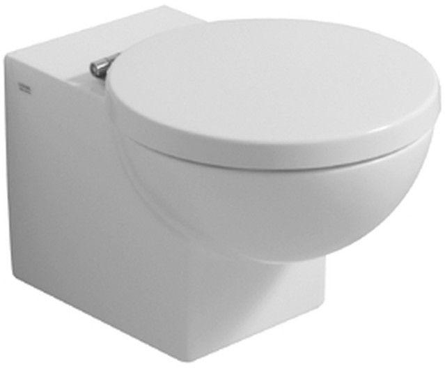Geberit Keramag Preciosa WC-Sitz Edelstahlscharniere weiß 571180000