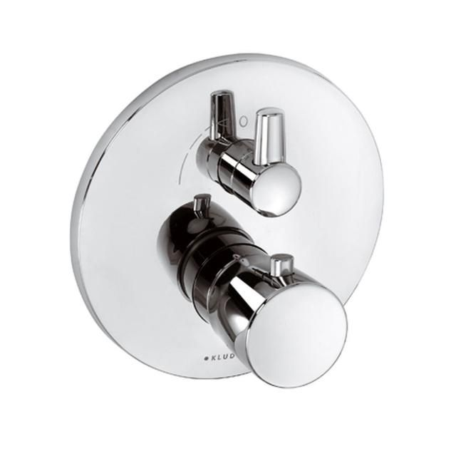KLUDI BALANCE Unterputz-Thermostatarmatur Feinbau-Set mit Absperr-und Umstellventil 528350575