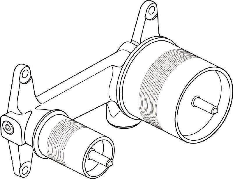 Ideal Standard Unterputz-Bausatz 1, A5948NU