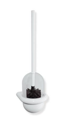 HEWI WC-Bürstengarnitur Serie 477 matt weiß Lichtgrau 477.20.10005 97