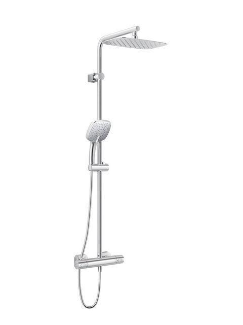 Ideal Standard Ceratherm 100 New Duschsystem L mit Brausethermostat Aufputz schwenkbar chrom A6188AA