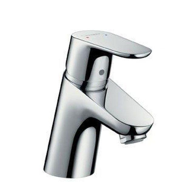 Hansgrohe Focus E² Einhebel-Waschtischarmatur Niederdruck mit Zugstangen-Ablaufgarnitur chrom 31132000
