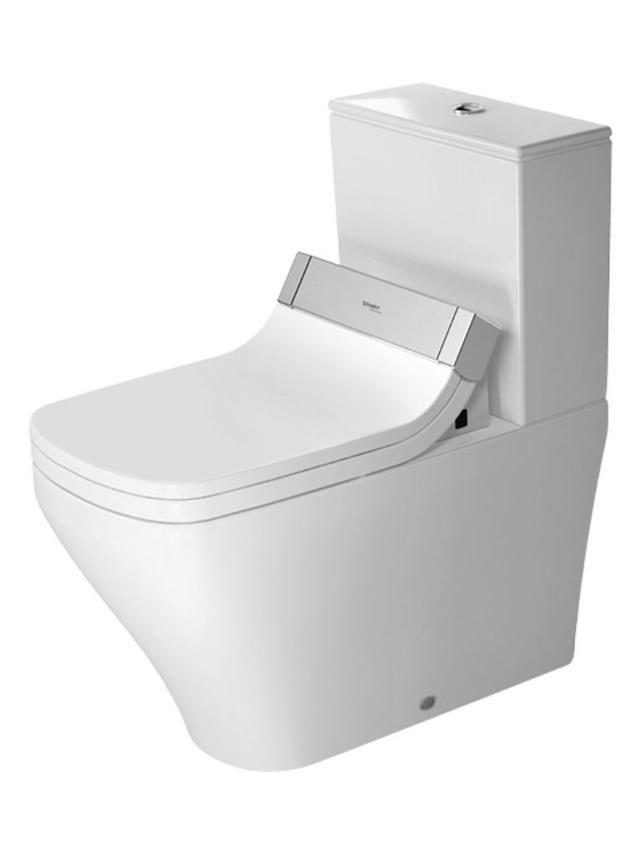 Duravit DuraStyle Tiefspül-Stand-WC für Aufsatzspülkasten für SensoWash L:70xB:37xH:40cm weiß 2156590000