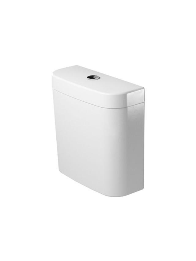 Duravit Darling New Spülkasten mit DualFlush Innengarnitur chrom weiß mit Wondergliss 09311000051