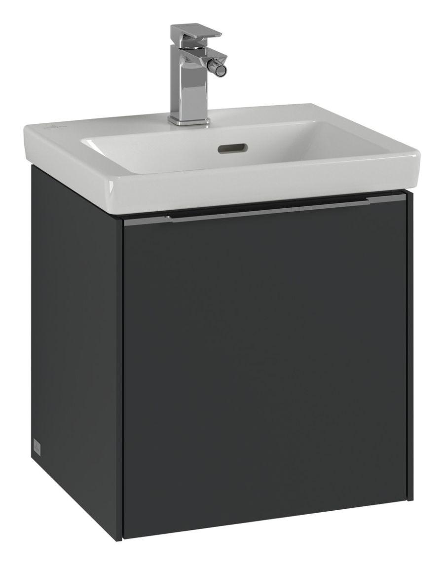 Villeroy & Boch Subway 3.0 Waschtischunterschrank 42,3x43,2x36,15cm 1 Tür Anschlag links Waschtisch mittig Pure White C58100VF