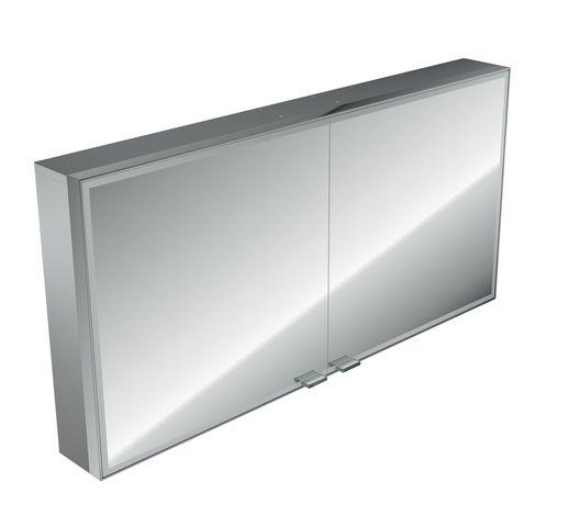 Emco asis prestige LED-Lichtspiegelschrank Aufputz B:119xH:64cm mit Bluetooth 989705075