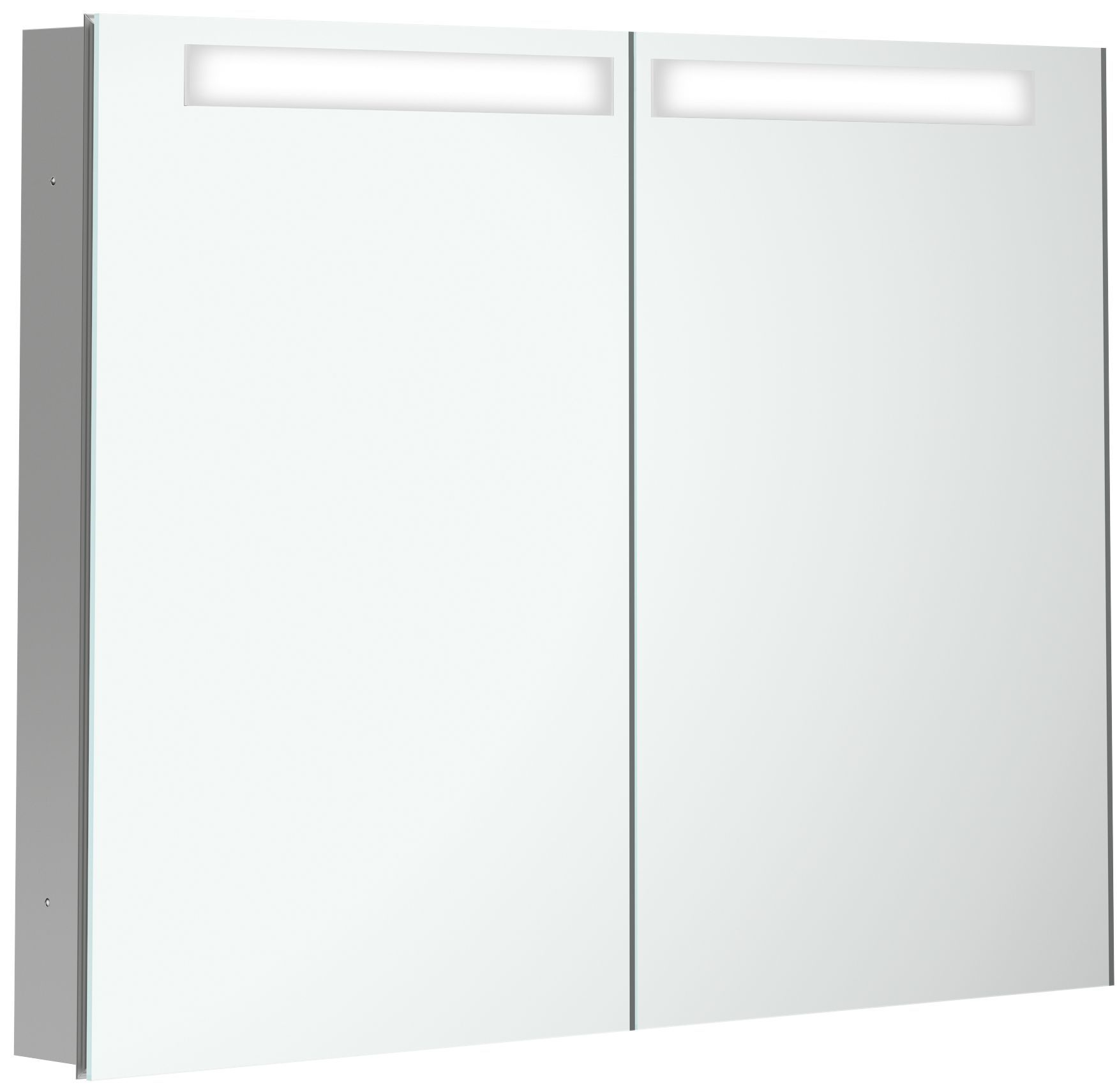 Villeroy & Boch My View In Spiegelschrank mit LED Beleuchtung B:100,1xH:74,7xT:10,7cm A4351000