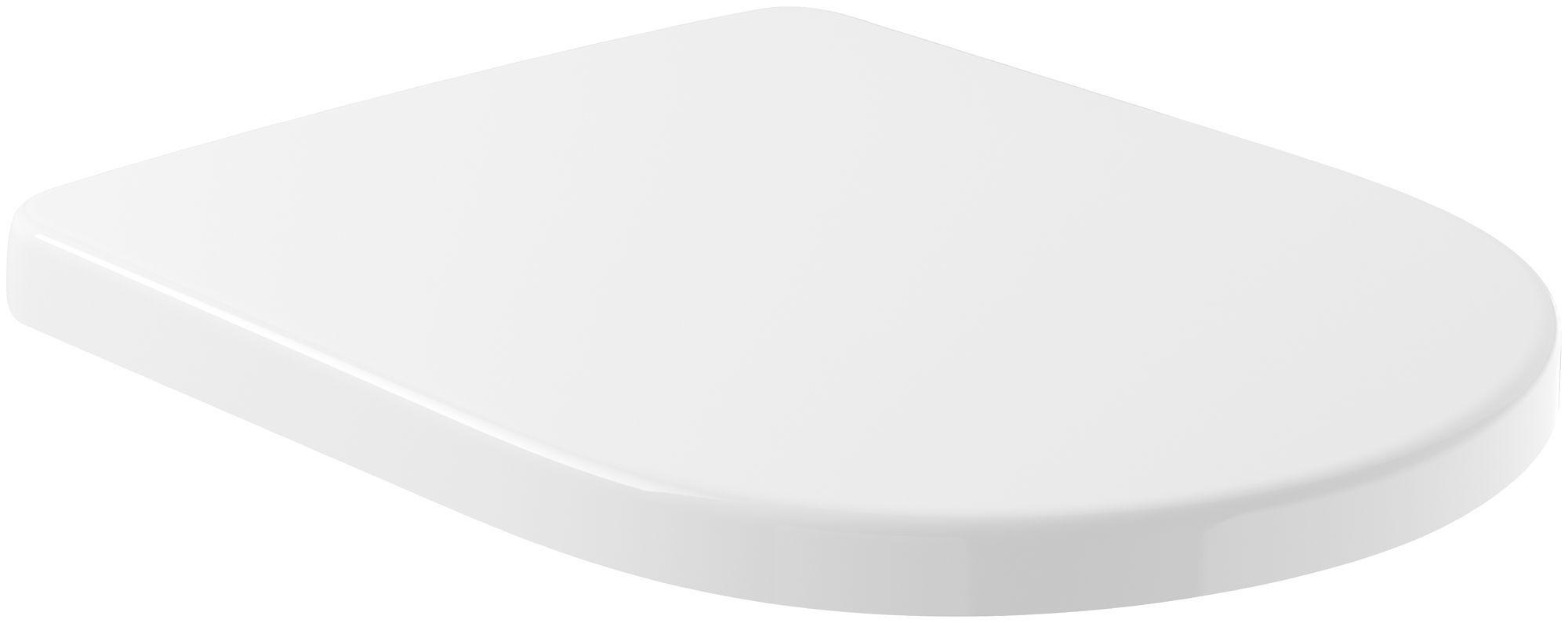 Villeroy & Boch Subway 2.0 Comfort WC-Sitz mit Absenkautomatik und Quick Release weiß 9M86S101