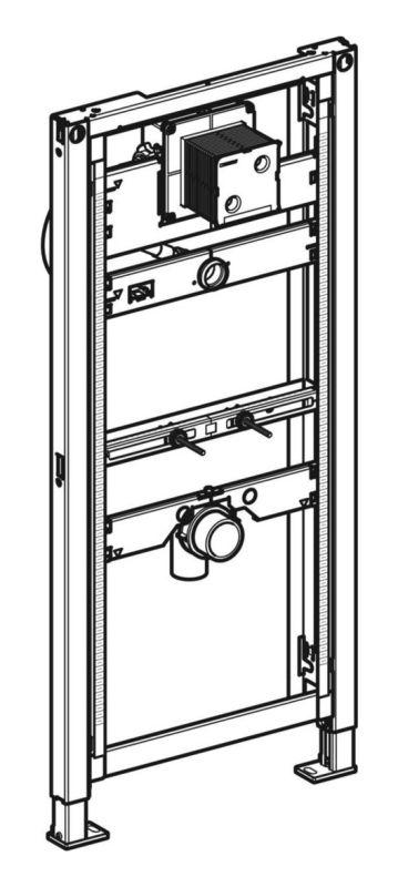 Geberit Duofix Montageelement Urinal Universal 1120-1300 mm 111616001