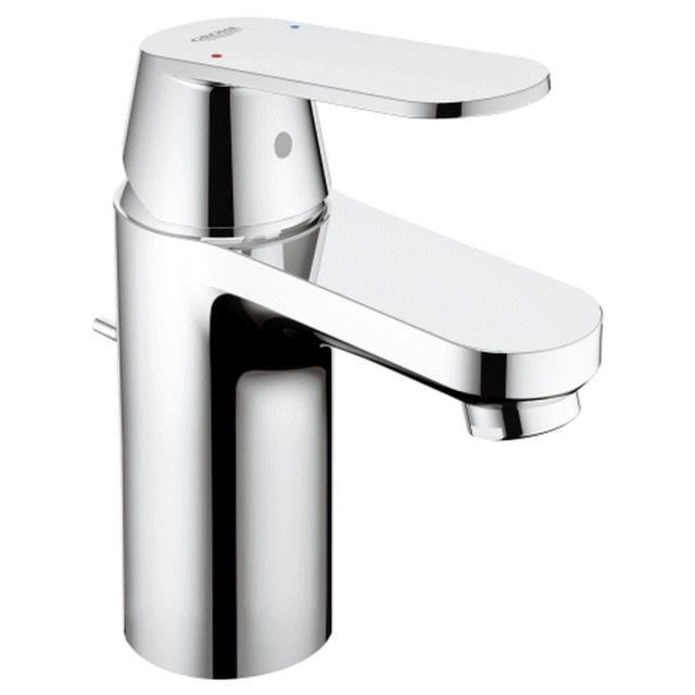 Grohe Eurosmart Cosmopolitan Einhand-Waschtischbatterie EcoJoy Zugstangen- Ablaufgarnitur chrom 3282500E
