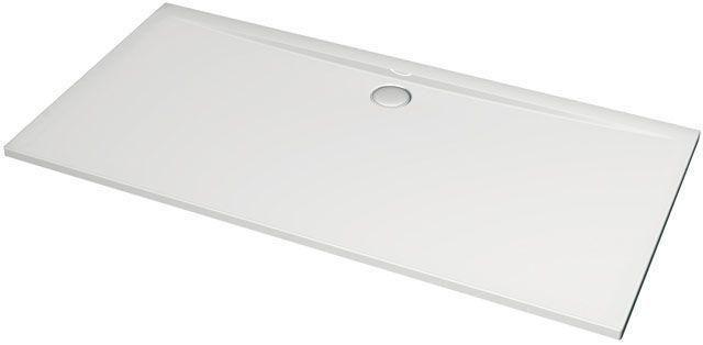 Ideal Standard Rechteck-Duschwanne Ultra Flat weiß H:130 B:800 L: 1800 bodeneben K163701