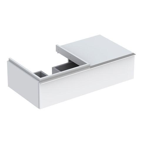 Geberit Keramag iCon Waschtischunterschrank mit 1 Schublade B:890xT:477xH:240mm alpin matt 841490000