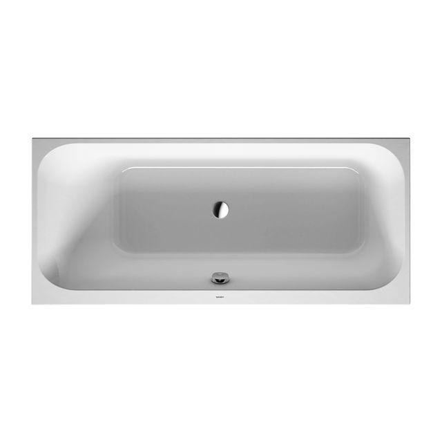 Duravit Happy D.2 Badewanne 1700x750 Einbauversion Rückenschräge links weiß 700312000000000