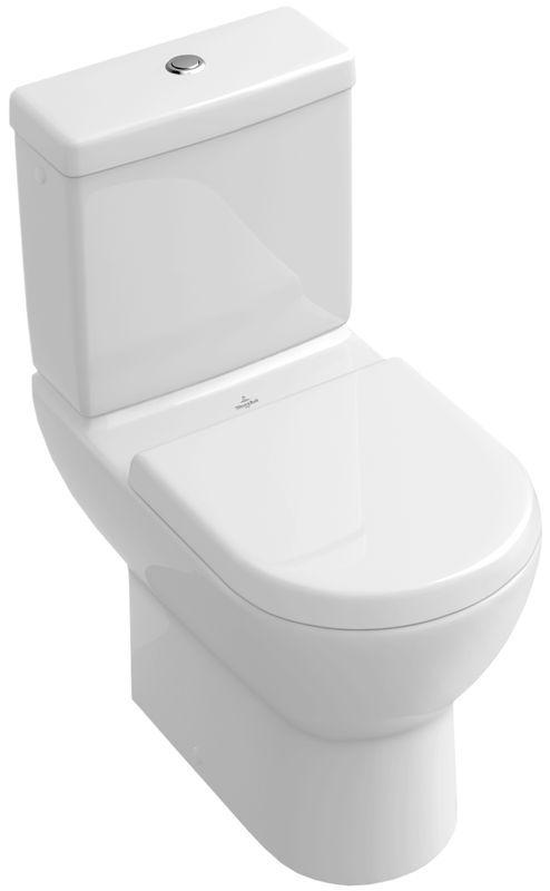 Villeroy & Boch Subway Tiefspül-Stand-WC für Aufsatzspülkasten L:67xB:37cm pergamon mit Ceramicplus 660910R3