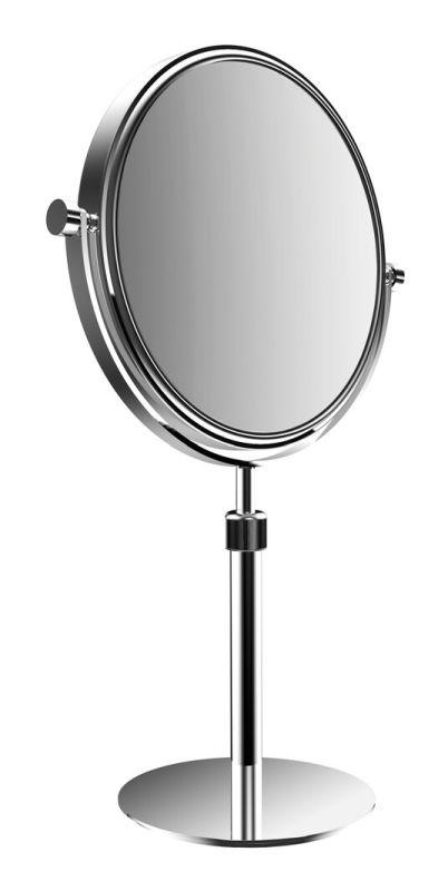 Emco Pure Kosmetikspiegel D:17,7cm 5-/1-fache Vergrößerung Standmodell chrom 109400121