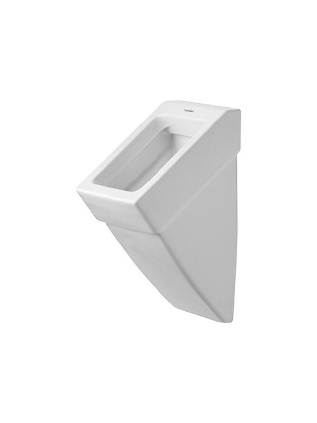Duravit Vero Urinal ohne Deckel Zulauf von hinten B:29,5xH:55,5xT:32cm weiß mit Wondergliss 28003200001