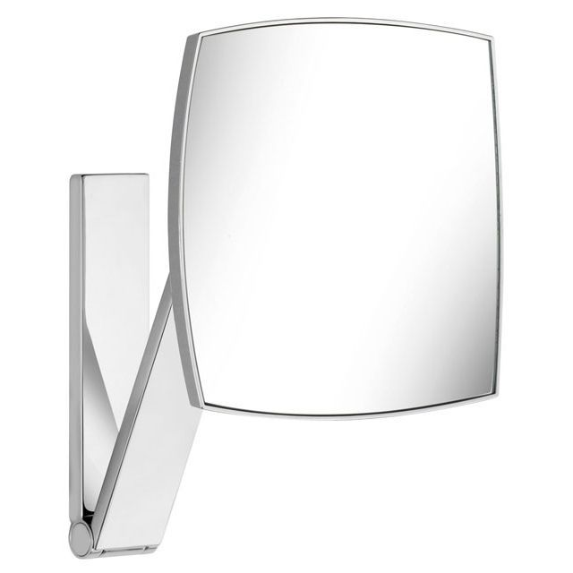 Keuco iLook_move Kosmetikspiegel unbeleuchtet Wandmodell an Schwenkarm 17613010000