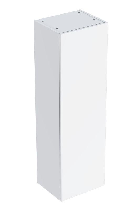 Geberit Smyle Square Mittel-Hochschrank mit einer Tür 36x118x299cm weiß 500361001