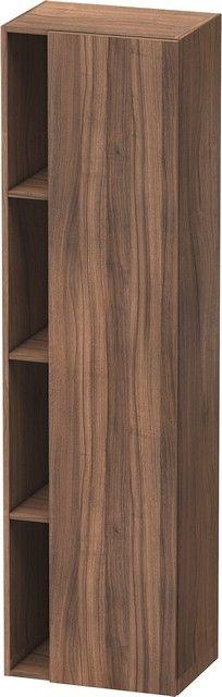 Duravit DuraStyle Hochschrank B:50xH:180xT:36 cm mit 1 Tür Türanschlag rechts nussbaum natur DS1249R7979