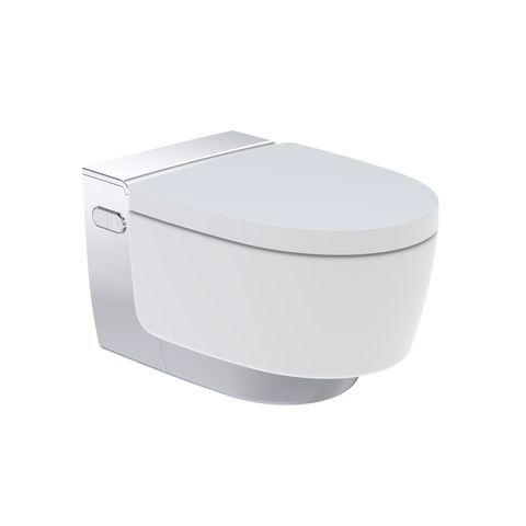 Geberit AquaClean Mera Comfort WC-Komplettanlage Unterputz Wand-WC glanzverchromt 146210211