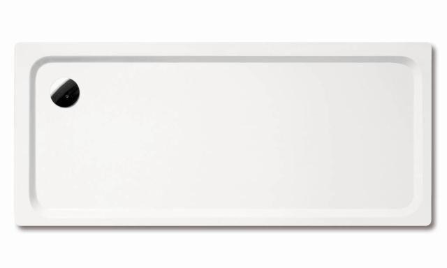 Kaldewei Avantgarde SUPERPLAN XXL 436-2 Duschwanne Rechteck 75x160cm alpinweiß Perl-Effekt mit Wannenträger 433648043001
