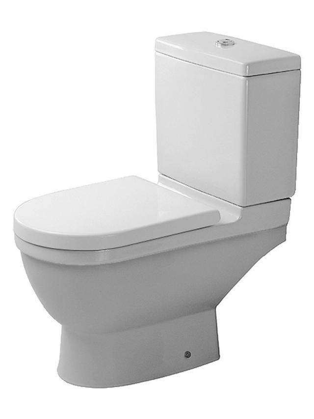 Duravit Starck 3 Tiefspül-Stand-WC für Aufsatzspülkasten L:65,5xB:36cm weiß 0126090000