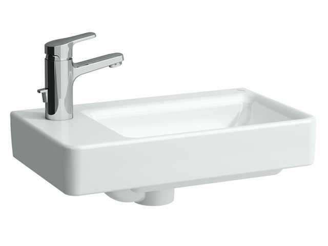 Laufen Pro S Handwaschbecken B:48xT:28cm 1 Hahnloch mit Überlauf weiß mit CleanCoat LCC H8159554001041