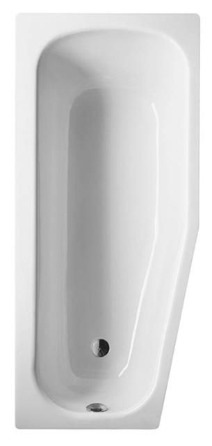 Bette Bambino Raumspar-Badewanne L:157xB:65xT:39cm links weiß 2770-000