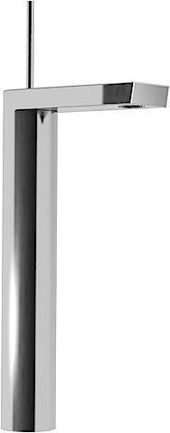 Hansa Waschtisch-Einhand-Einlochbatterie Ausladung 144 mm Hansastela 57102201, DN15, chrom