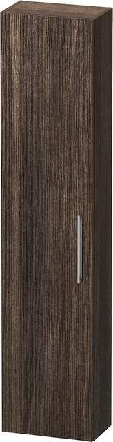 Duravit Vero Hochschrank B:40xH:176xT:24cm 1 Tür Türanschlag links kastanie dunkel VE1115L5353