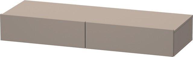 Duravit DuraStyle Schubkastenablage 440x1200x150 2 Schubkästen basalt matt/ basalt matt DS827104343
