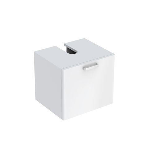 Geberit Keramag Renova Plan Waschtischunterschrank mit 1 Auszug B:530xT:445xH:463mm weiß hochglanz 879070000