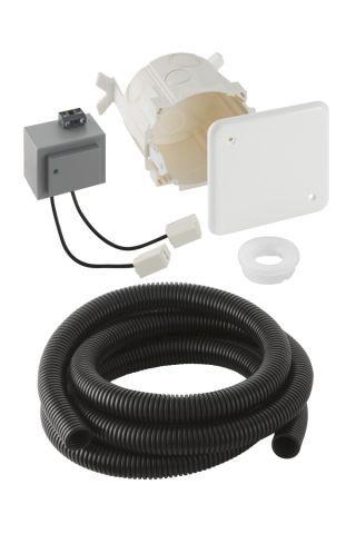 Geberit Rohbauset mit Unterputz-Netzteil für Geberit Waschtischarmaturen Typ 8x und 18x 241631001