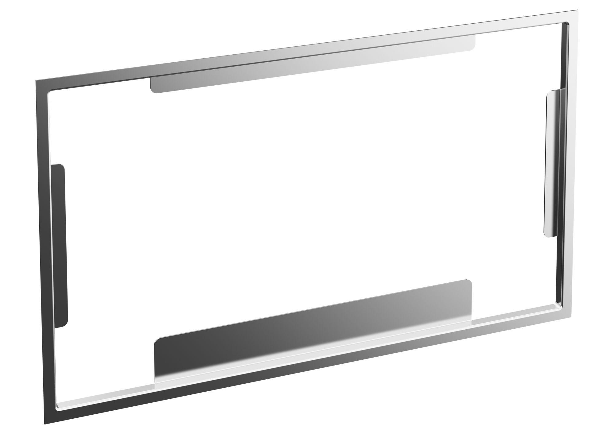 Villeroy & Boch ViConnect Distanzrahmen für Einbauset flächenbündig B:26,5xH:15,7x,7cm Edelstahl 922158LC