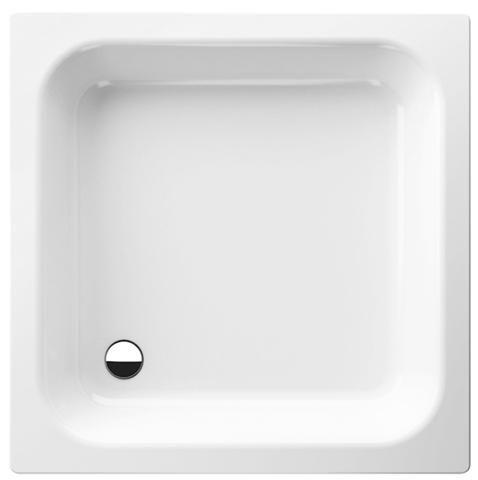 Bette Rechteck-Duschwanne L:80xB:75xT:15cm mit Antirutsch weiß 5650-000AR